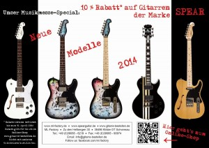 Messe Gitarrenshop