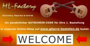 Ihr Willkommens-Rabatt auf gitarre-bestellen.de
