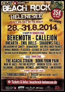 Beach ROCK Helenesee 2014