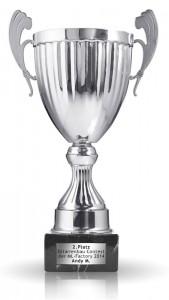 Herzlichen Glückwunsch zum 2.Platz im Contest 2014 !