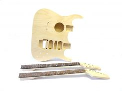 Akustik E-Gitarren Bausatz Double Neck Tree of Life Inlays (3)