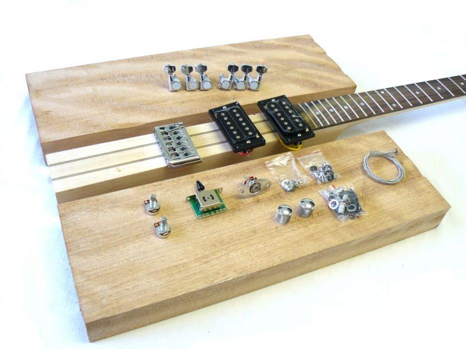 E-Gitarren-Bausatz Guitar Kit Base (3)