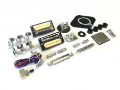 E-Gitarren-Bausatz Guitar Kit MLP Hybrid II mit Bird Inlays (4)