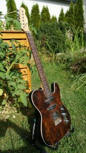 E-Gitarren-Esche Wurzel Top – Uwe Beger
