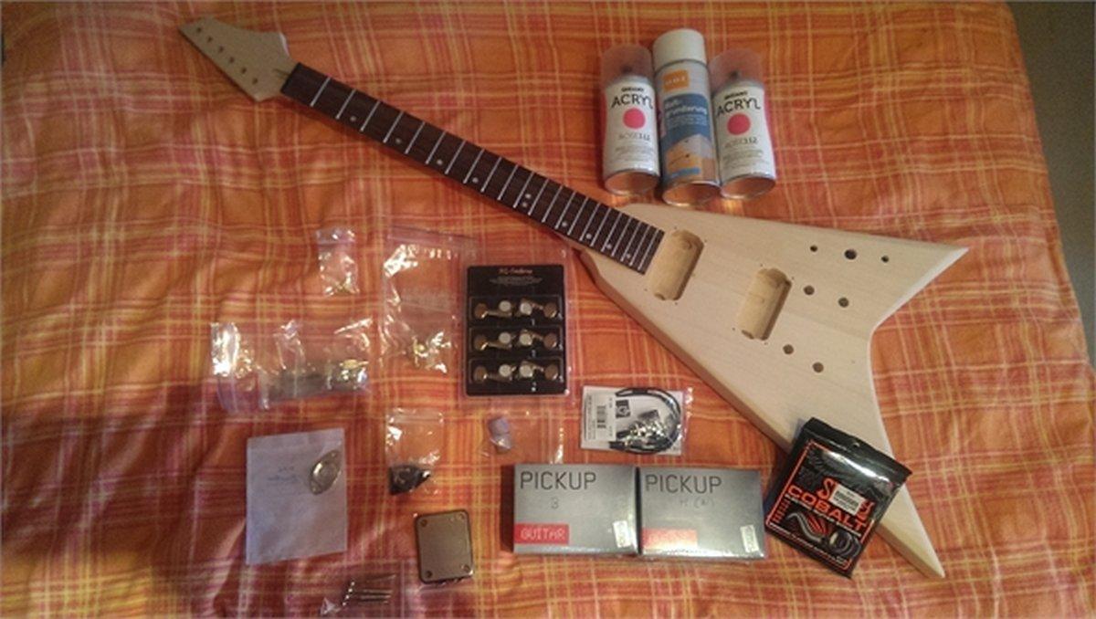 Groß Verkabelung Pickups In Einer Gitarre Bilder - Elektrische ...