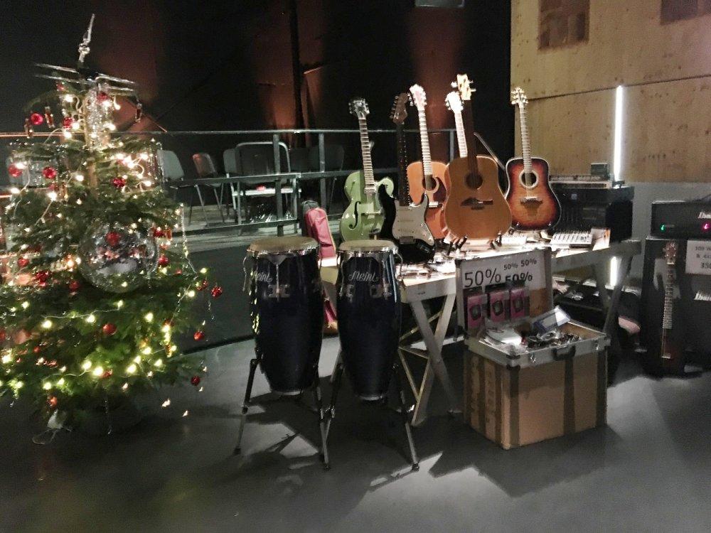 Musikerweihnachtsflohmarkt 2017 – Danke an alle Händler und Gäste