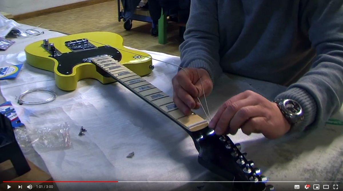 Gitarrenbau Workshop mit Gitarrenbausätzen von ML-Factory