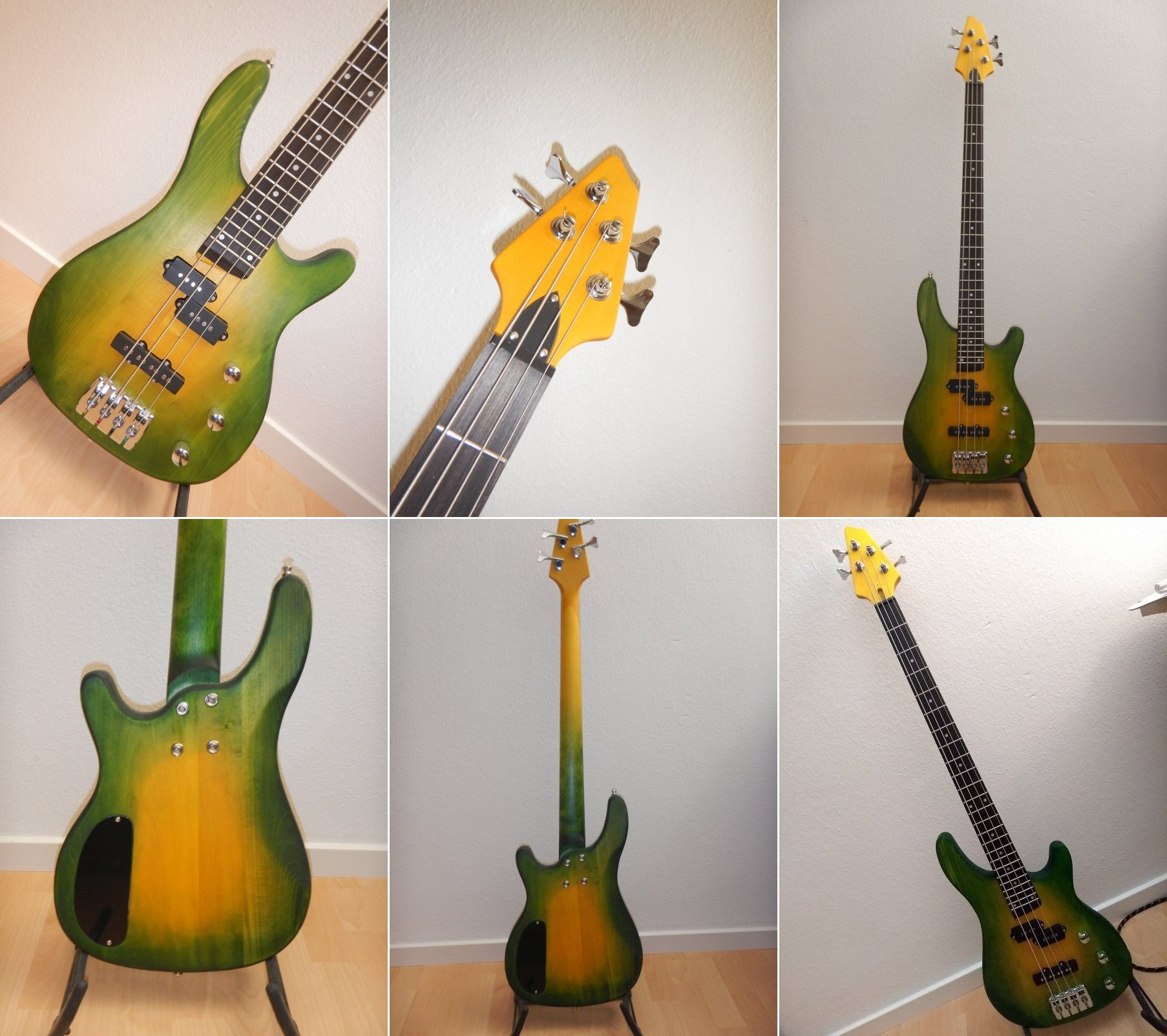 Rock Style Bass – Björn Wolf