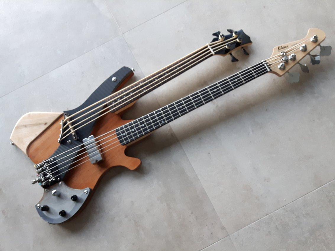 Sonstiges: Bass Double Neck – Karl Huber