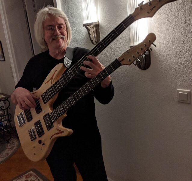 Double Neck Gitarre/Bass – Eckhardt Keim