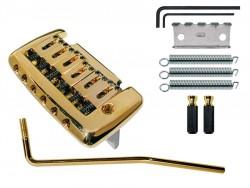 Tremolo 2 - Punkt-Klingenaufhängung gold 52,5mm Klingenabstand
