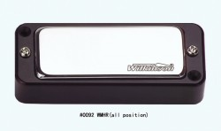 Wilkinson Mini-Humbucker WMHR incl. Rahmen schwarz
