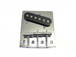 Standard Bridge II chrom incl. Pickup und Schrauben