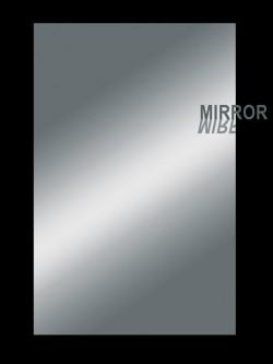 Pickguard Rohmaterial 2-lagig  45 x 29 cm Spiegel-chrom