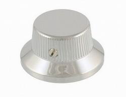 Allparts Potiknopf / Bell Knob Metall chrom mit Schraube