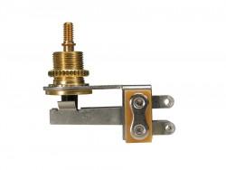 Winkel 3-Wege Schalter / Toggle Switch gold Switchcraft Made in USA