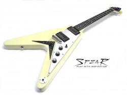 E-Gitarre SPEAR  SFV Vintage White