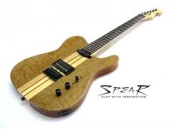 E-Gitarre SPEAR RT 100 Satin Natur