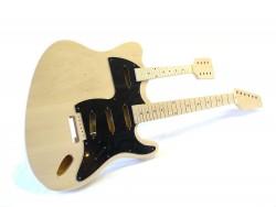 E-Gitarren-Bausatz I Doppelhals Gitarre + Mandoline