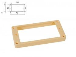 Humbucker-Rahmen in creme hoch / für gewölbte Decke
