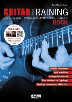 Guitar Training - Rock (mit CD und DVD), Buch Gitarre spielen