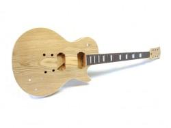 E-Gitarren-Bausatz/Guitar Kit MLP Swamp Ash Top Standard Mahagoni