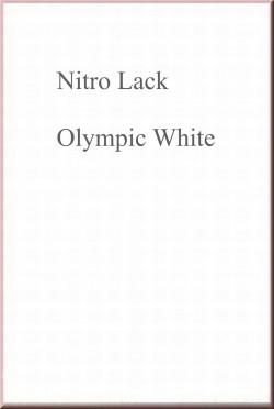Nitrocellulose Lack / Nitro Lack Spray 500ml Olympic White