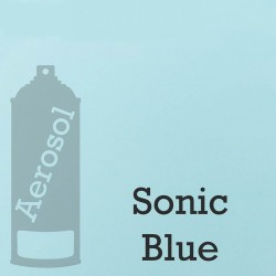 Nitrocellulose Lack Spray 400ml Sonic Blue