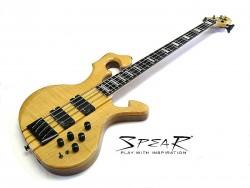 E-Bass SPEAR S-1 FL Flame Top