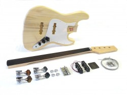 Fretless E-Bass Bausatz/Guitar DIY Kit Style I