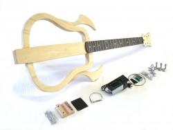 Western-Gitarren Bausatz/Guitar DIY Kit ML Silent