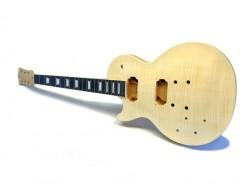 E-Gitarren-Bausatz MLP Flame Top Standard Mahagoni lefthand