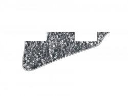 LP-Style Pickguard 3-lagig black pearl