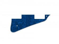 LP-Style Pickguard 3-lagig blue pearl
