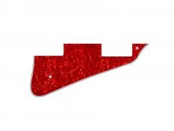 LP-Style Pickguard 3-lagig red pearl