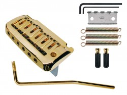 Tremolo 2 - Punkt-Klingenaufhängung gold 66mm Klingenabstand