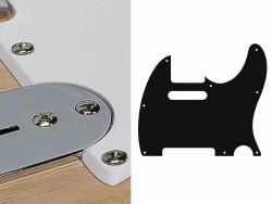 Pickguard II Standard 1-lagig weiß