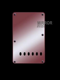 Tremolo-Abdeckung / Back Plate I 2-lagig Mirror Red / Spiegel Rot