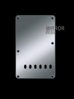 Tremolo-Abdeckung / Back Plate I 2-lagig Mirror Chrome / Spiegel Chrom