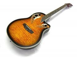 Roundback-Gitarre  ML-Factory MLO-C 1 Sunburst mit Tonabnehmer