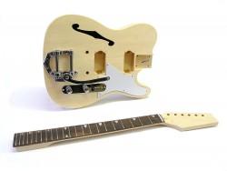 E-Gitarren-Bausatz/Guitar Kit Style II Thinline mit Tremolo
