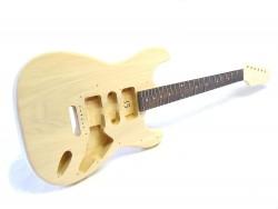 E-Gitarren-Bausatz Style I Linde/Palisander ohne Hardware