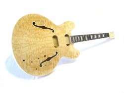 E-Gitarren-Bausatz/Guitar Kit MES Burl Top