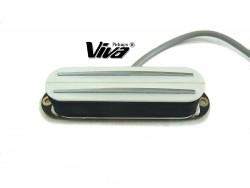 VIVA® SB 101 WH Twin Blade Humbucker im Single Coil Format