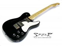 E-Gitarre SPEAR RT Hollow H Black