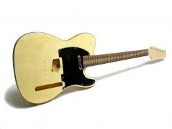 E-Gitarren-Bausatz/Guitar Style II Standard Flame Top