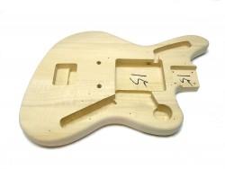 Jag Style E-Gitarren-Body / Korpus, unbehandelt, neu
