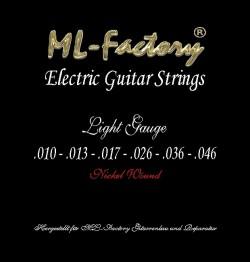 E-Gitarren Saiten ML-Factory Light 10-46