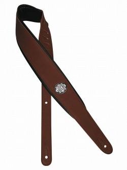Gitarrengurt Gaucho Leder GST-314 braun extra breit top gepolstert