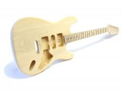 E-Gitarren-Bausatz Style I Linde/Ahorn ohne Hardware